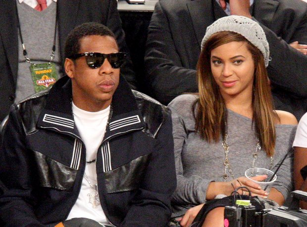 where did jay z and beyonce first meet