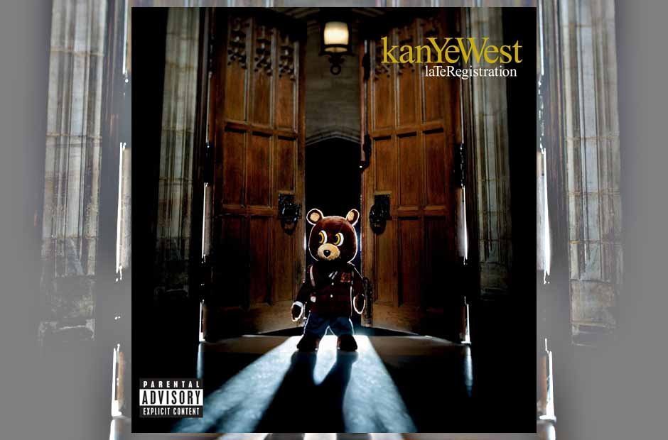 Kanye West 'Late Registration' album artwork