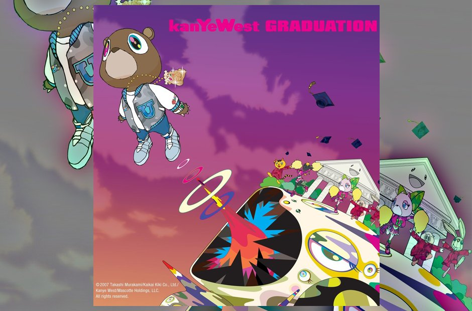 Kanye West 'Graduation' album artwork