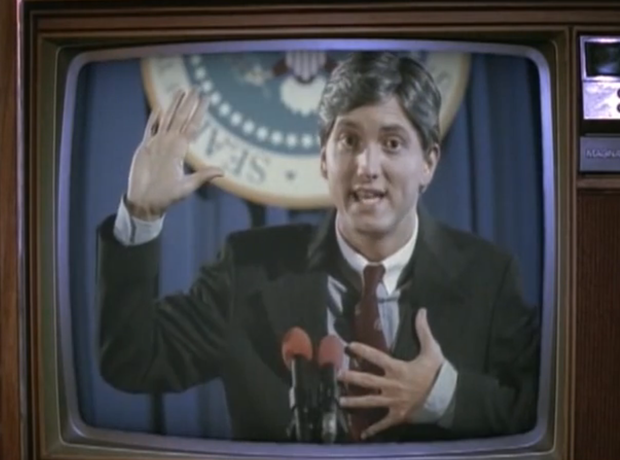 Eminem as President in My Name Is video