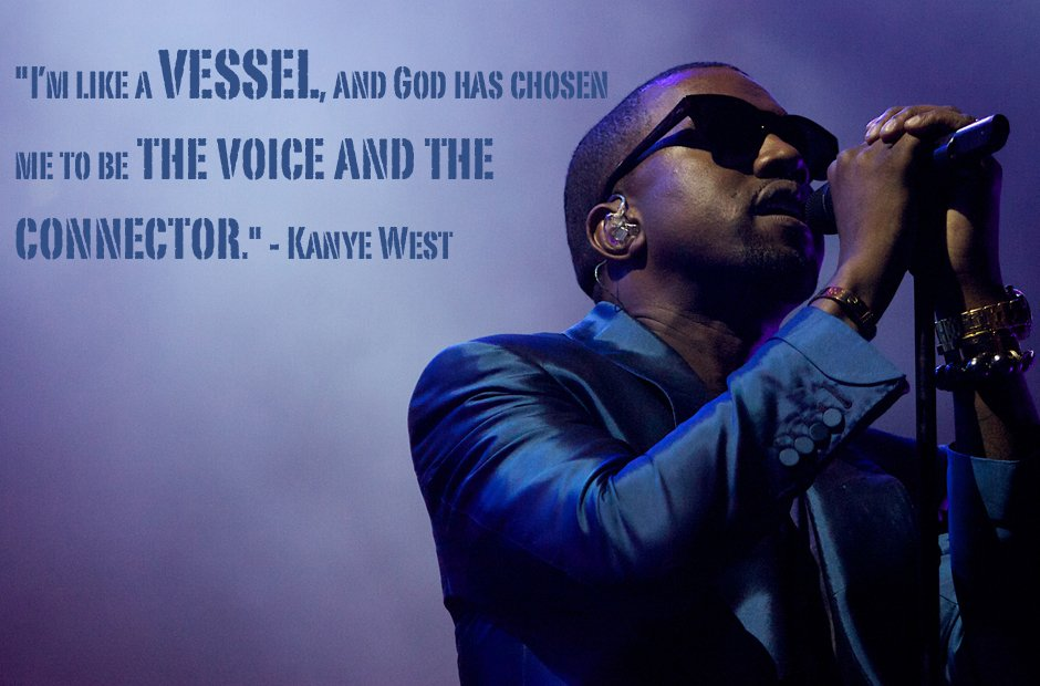 Kanye West vessel quote