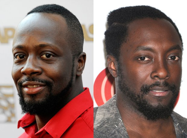 Wyclef Jean and Will I Am lookalike