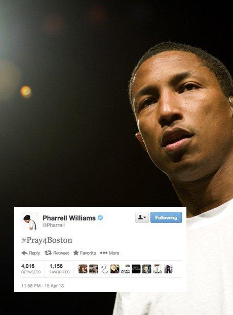 Pharrell Williams Best Tweets 2013