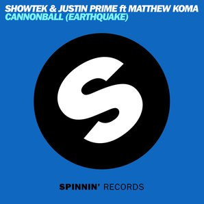 Showtek - 'Cannonball' Artwork