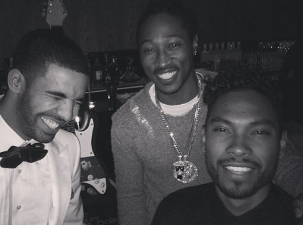 Drake Miguel and Future on Instagram