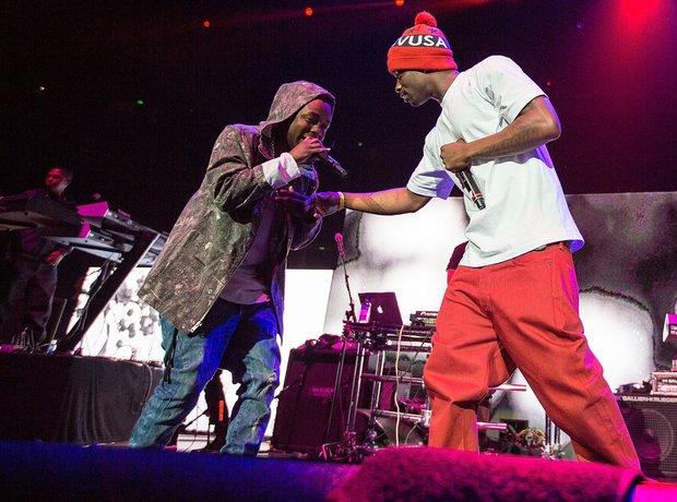 Kendrick Lamar live california