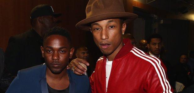 Jay Z, Kendrick Lamar and Pharrell Williams