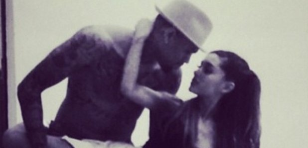 Chris Brown Ariana Grande Instagram