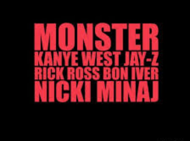 Monster Kanye West Jay Z Rick Ross Nicki Minaj