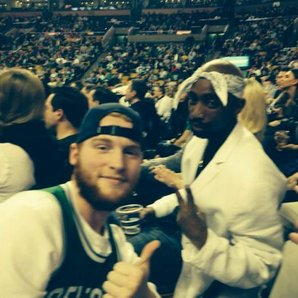 Tupac Lookalike Drives Crowd Wild At Us Basketball Game