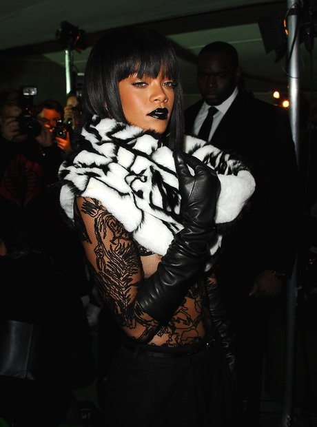 Rihanna fashion week