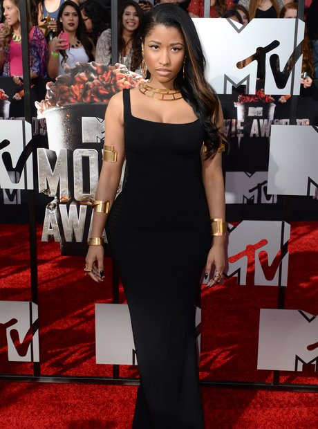Nicki Minaj at the MTV Movie Awards 2014