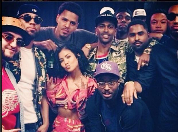 Jhene Aiko J Cole Big Sean Instagram