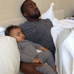 Kanye West North West Instagram