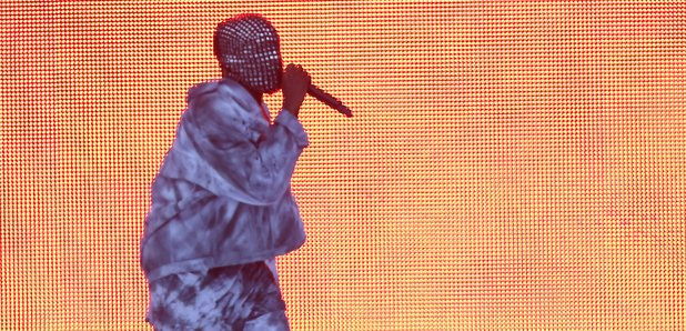 Kanye West at Wireless Festival 2014 in London