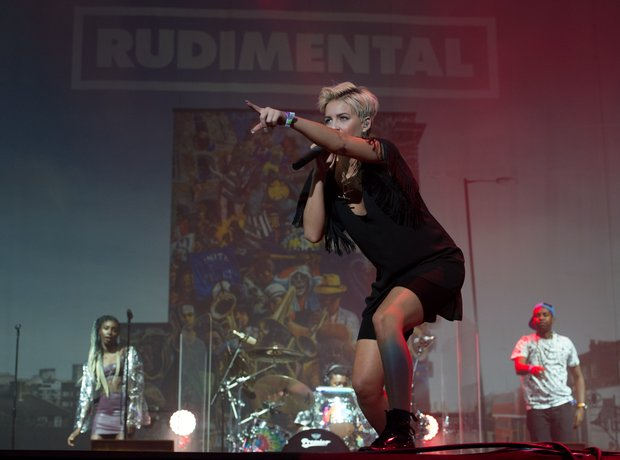 Rudimental at Wireless Festival 2014