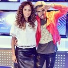 Max with Vic Mensa at Capital XTRA