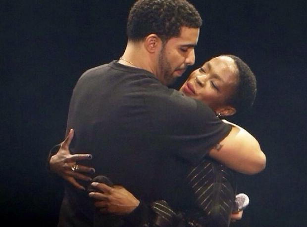 Drake Lauryn Hill OVO Fest 2014