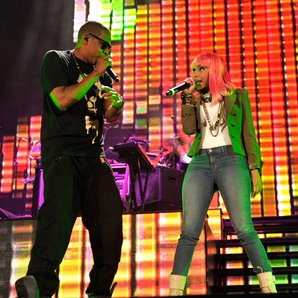 Jay Z and Nicki Minaj