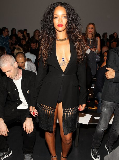 Rihanna New York Fashion Week 2014