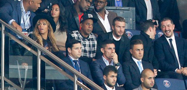 Jay Z David Beckham football