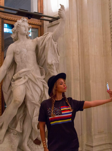 Beyonce Jay Z The Louvre Paris
