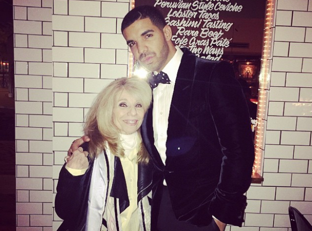 Drake and his mum
