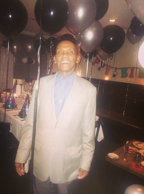Rihanna's grandpa