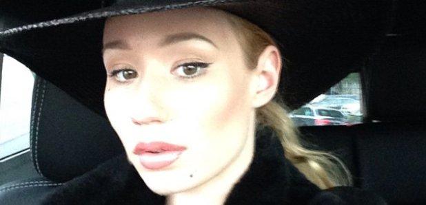 Iggy Azalea selfie instagram