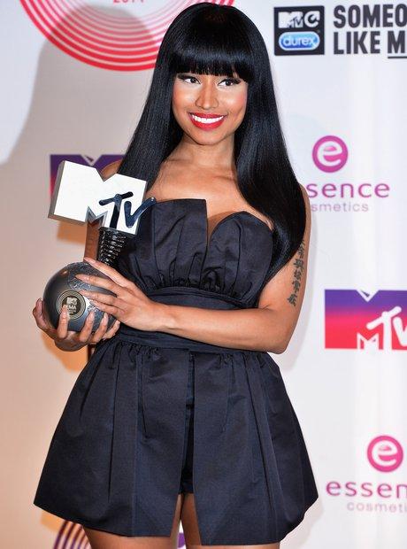 Nicki Minaj MTV EMAs 2014 Winner