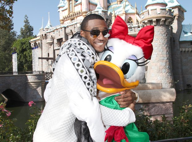 Trey Songz Disney land