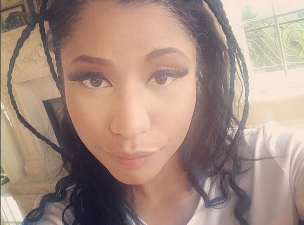 Nicki Minaj braids
