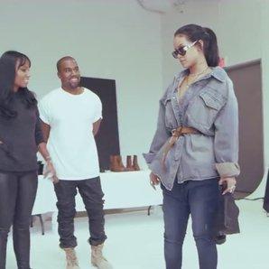 Rihanna Kanye West