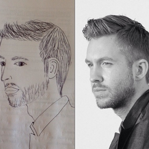 Calvin Harris Fan Art Fridays