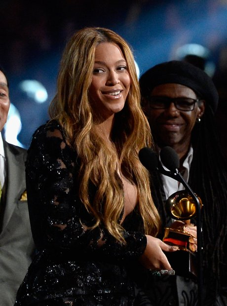 Beyonce wins at the Grammy Awards