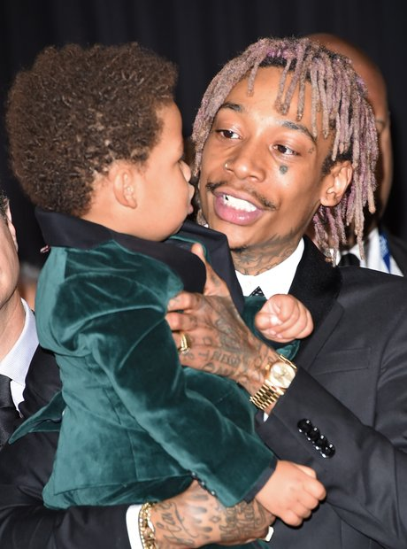 Wiz Khalifa and son Sebastian Taylor Thomaz