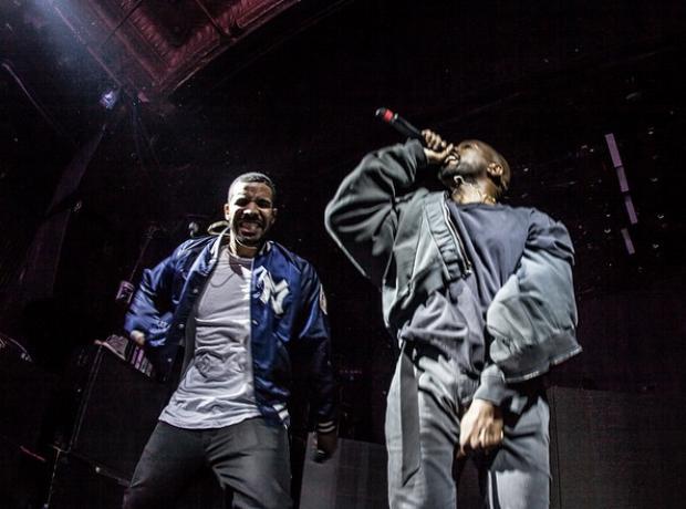 Drake and Kanye West Sprite Concert