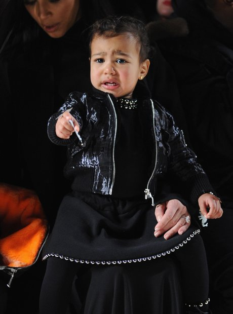 North West crying