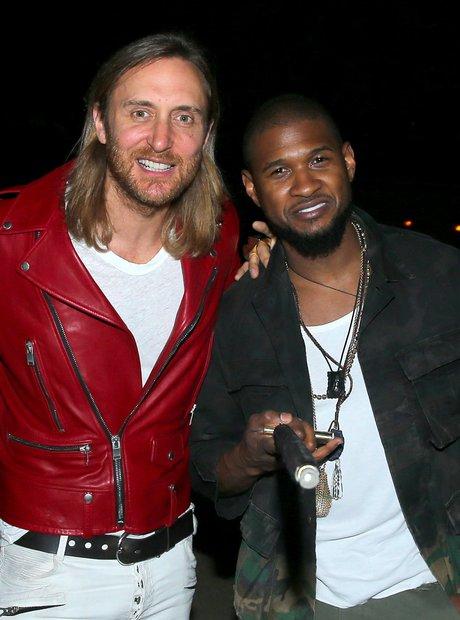 Usher and David Guetta Coachella 2015