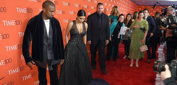 Kanye West, Kim Kardashian West and Amy Schumer pr