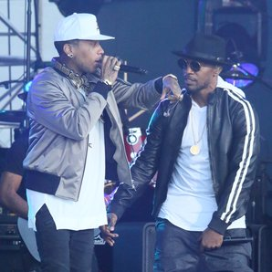 Jamie Foxx and Kid Ink