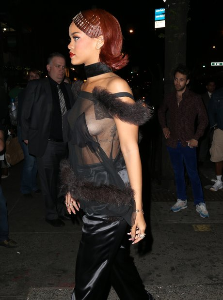 Rihanna MET Ball After Party 2015