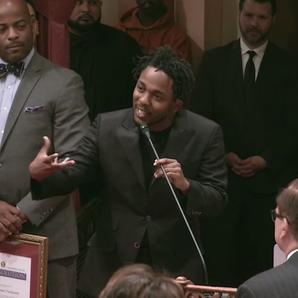 Kendrick Lamar Generational award