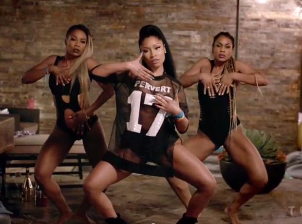 Nicki Minaj Pervert 17 Jersey Feeling Myself