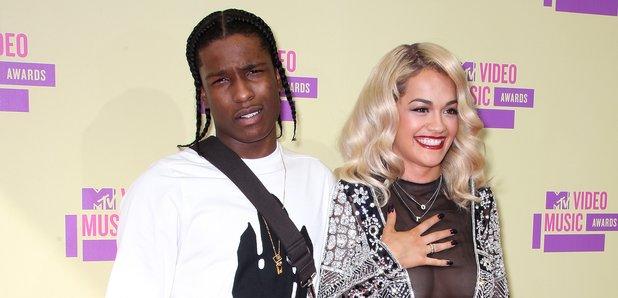 ASAP Rocky Rita Ora