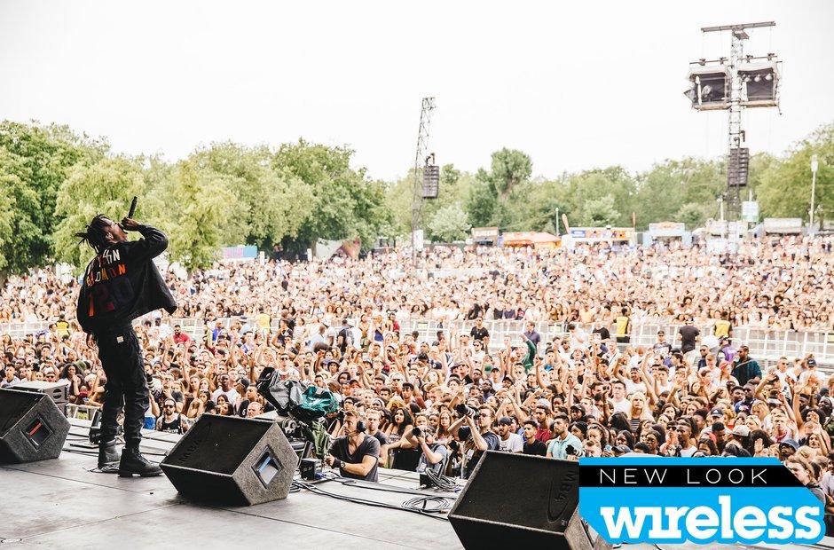 Joey Bada$$ Wireless Festival 2015