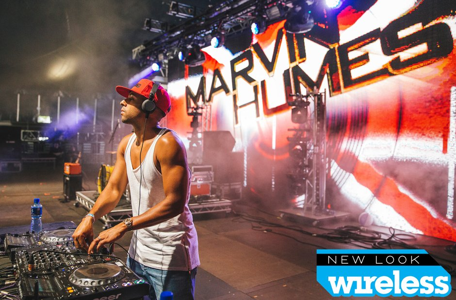 Marvin Humes Wireless Festival 2015