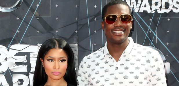Nicki Minaj and Meek Mill BET Awards Red Carpet 20