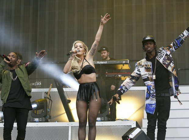 Rita Ora Krept And Konan Wireless 10th birthday 20