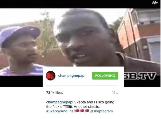 Drake Skepta Instagram 2